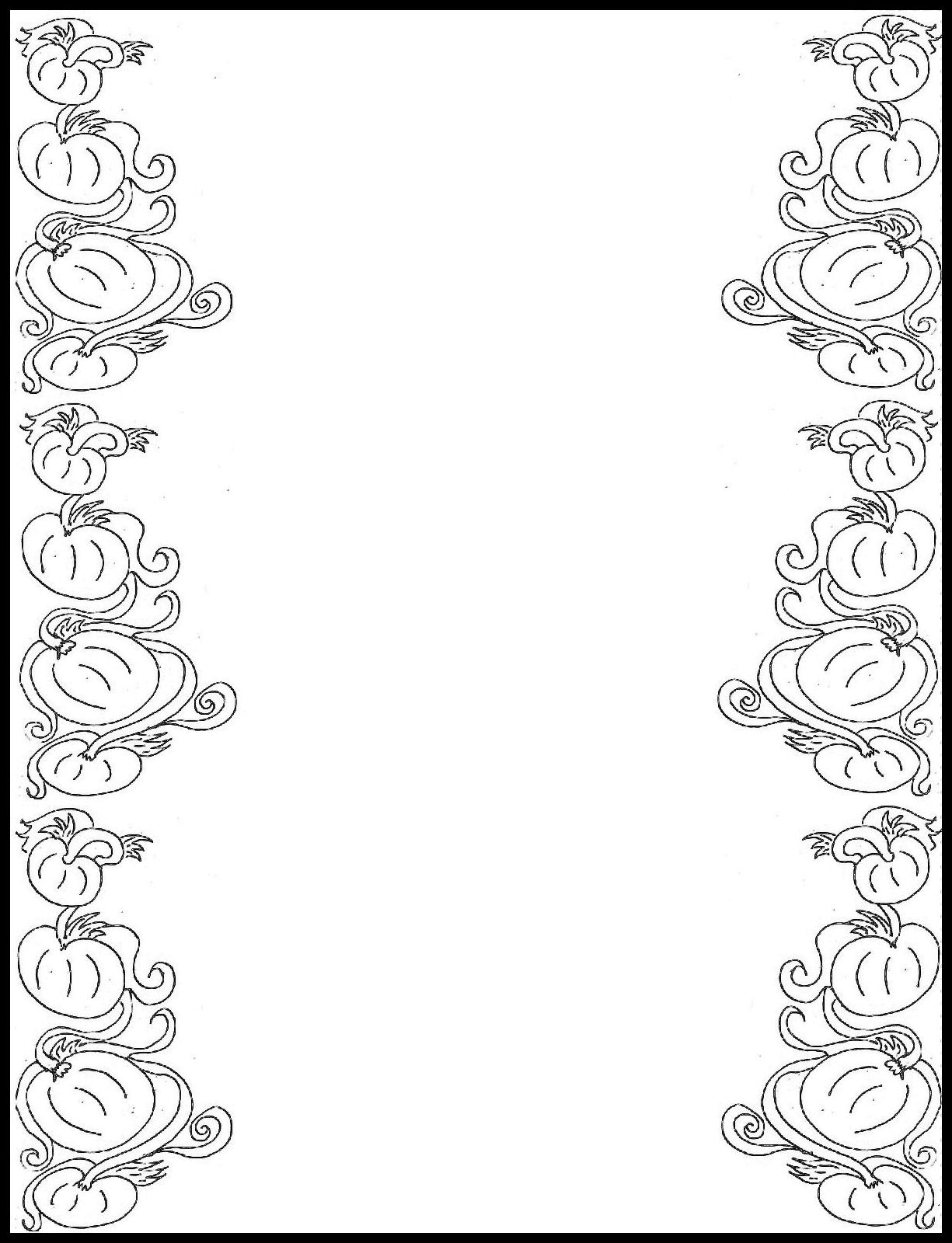 Free Free Printable Border Designs For Paper Black And ...