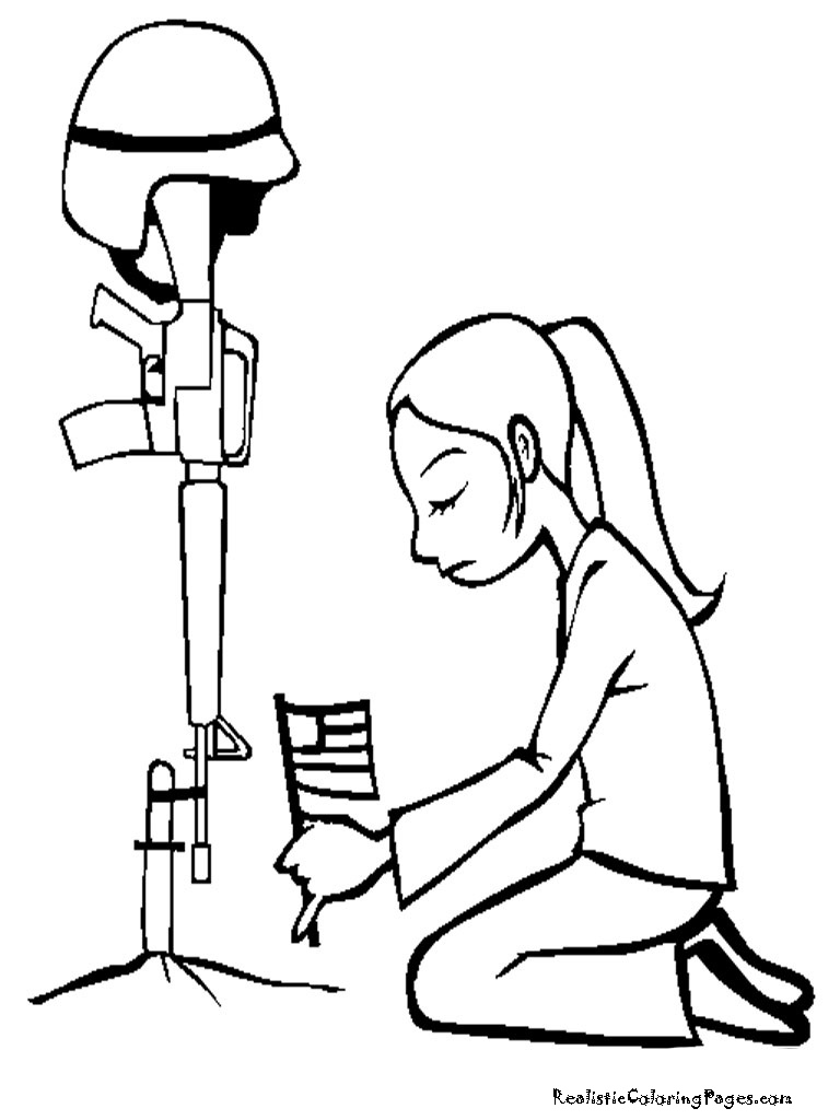 Memorial Day Coloring Pages Realistic Coloring Pages Clip Art