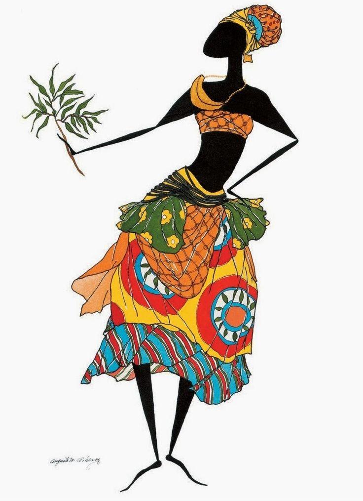 African Angels American Art Clip