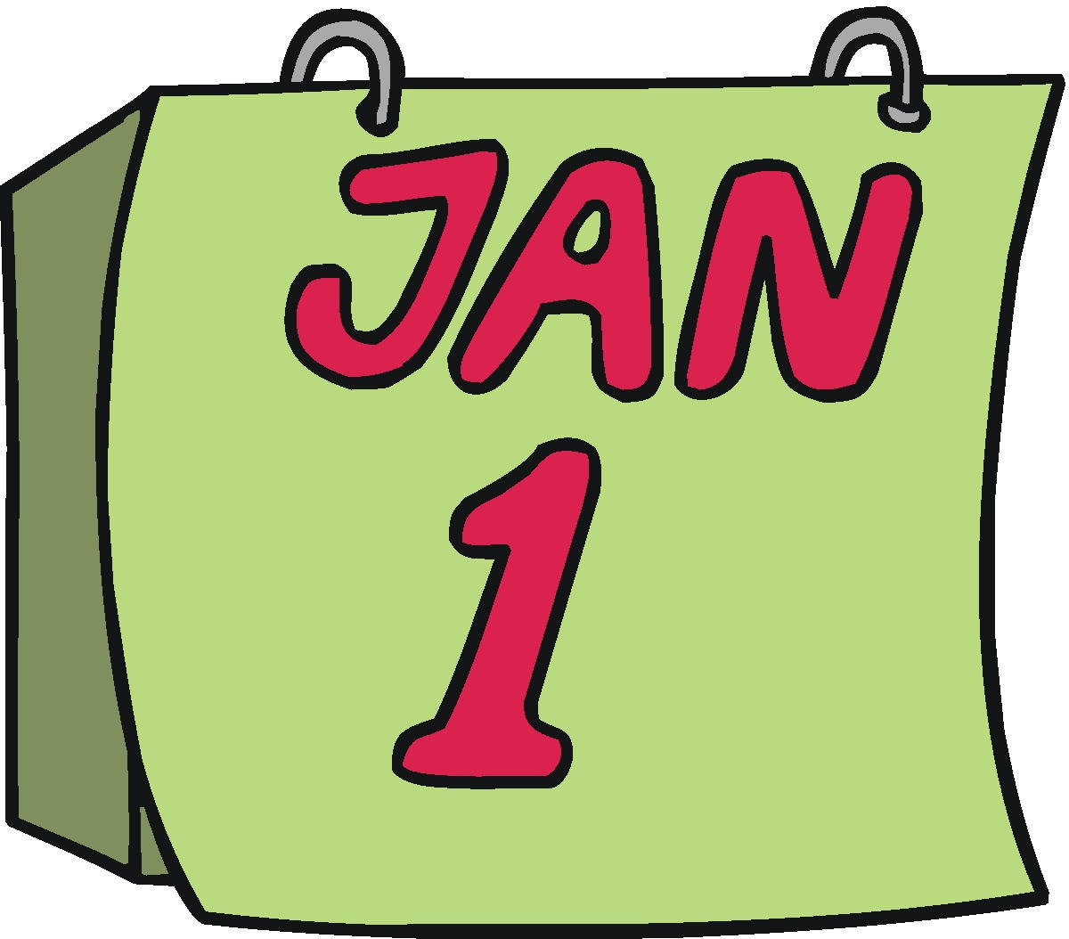 Monthly Announcements Clip Art