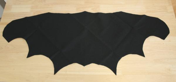 Bat Wing Costume Template