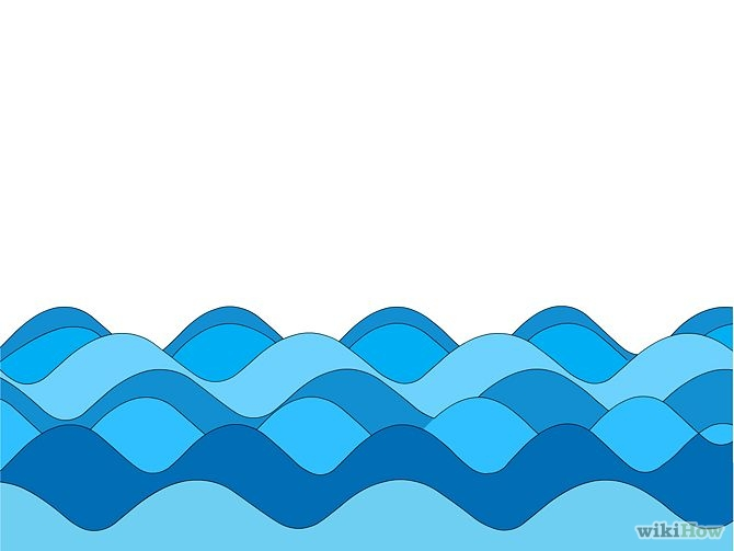 Overflowing Water Clip Art