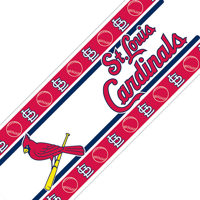 Graphic White Cardinals Louis Black St And