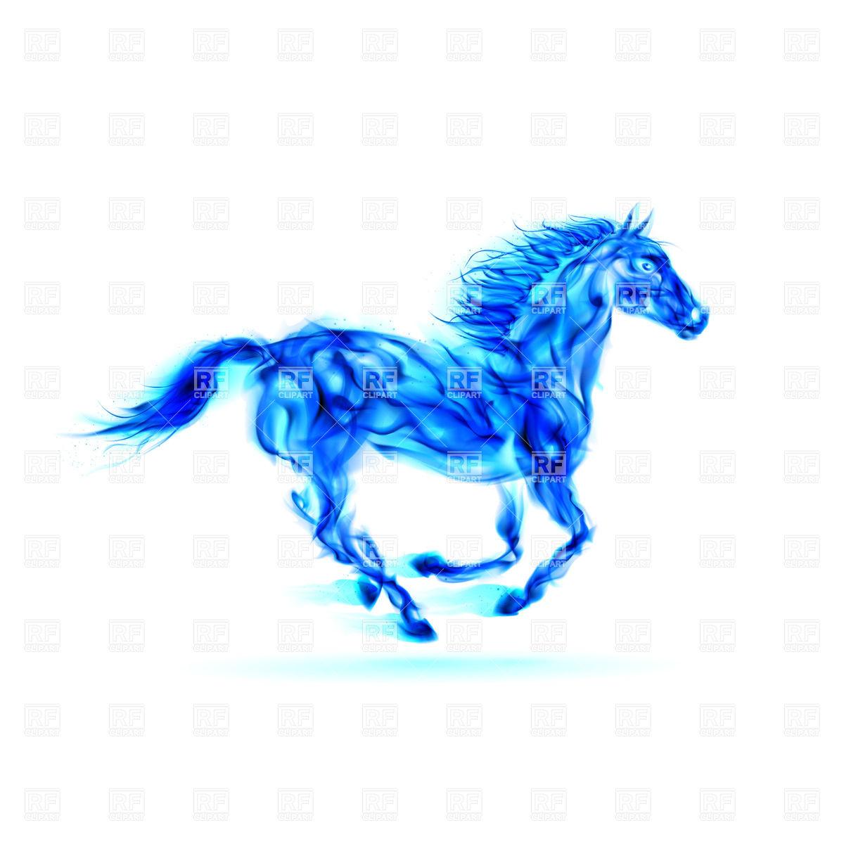Horses Drawings Art Fire