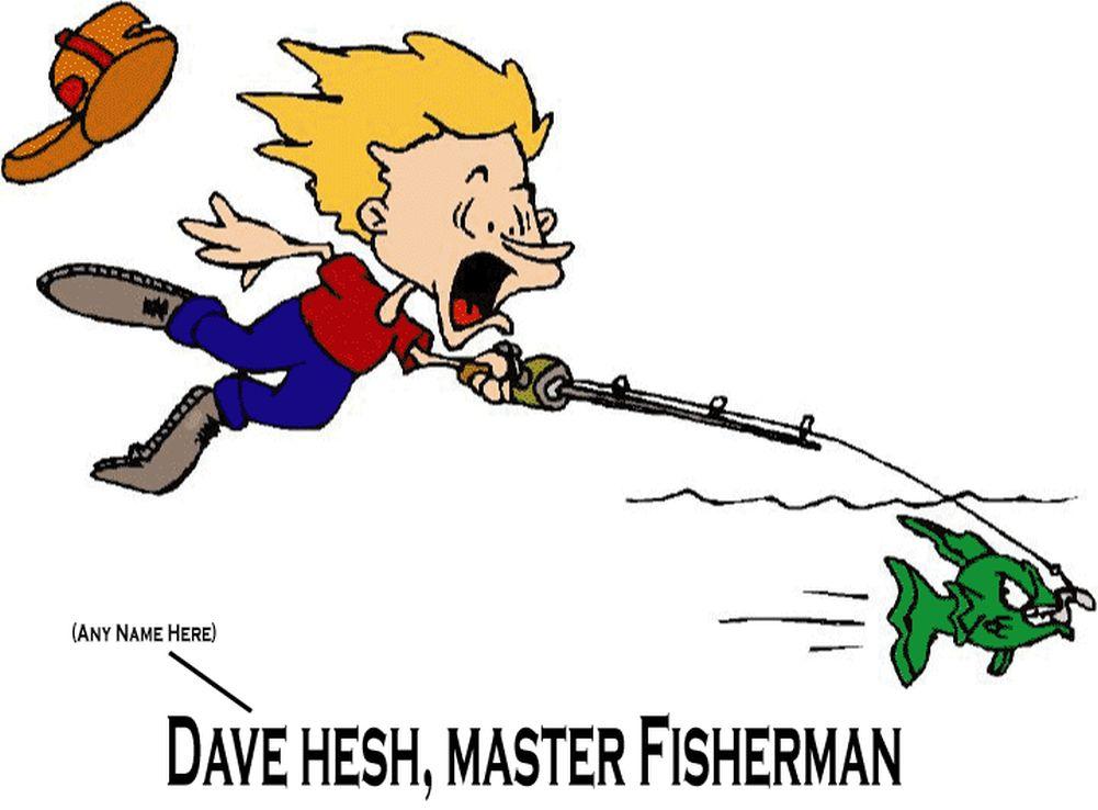 Christian Men And Fishing Tree