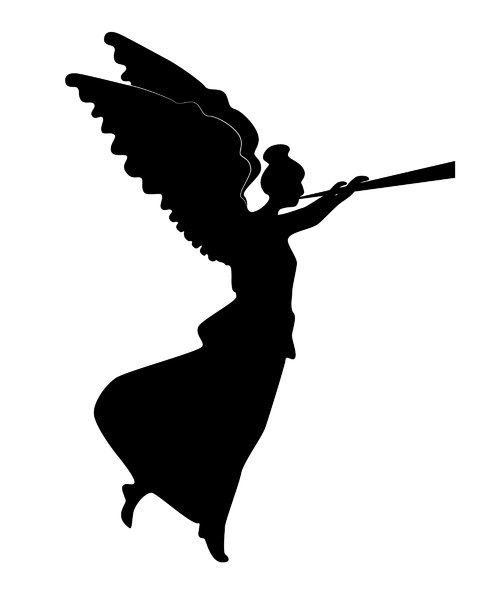 Free Angel Silhouette, Download Free Clip Art, Free Clip ...