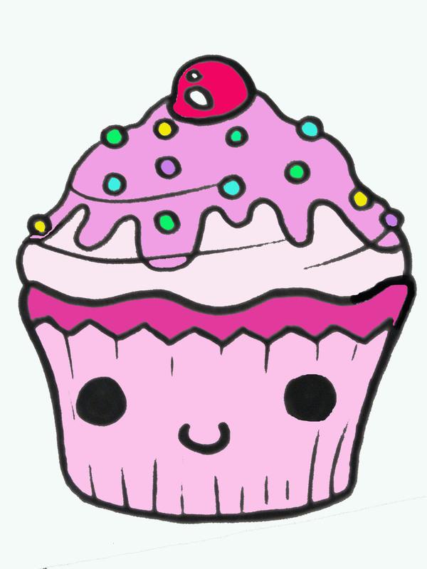 Cupcake Super Cute Sketches
