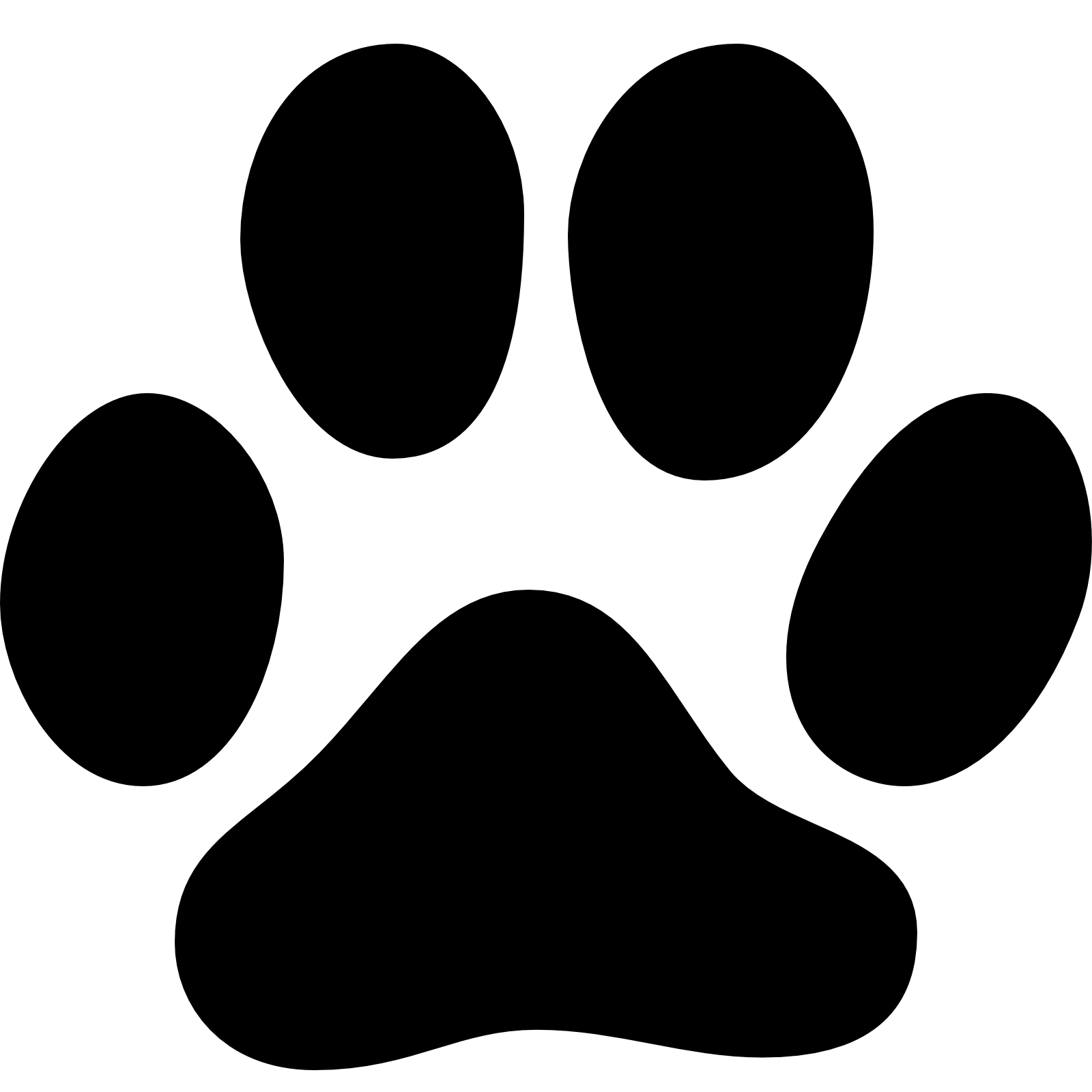 Dog Cat Paw Animal Track Footprint Footprint Png