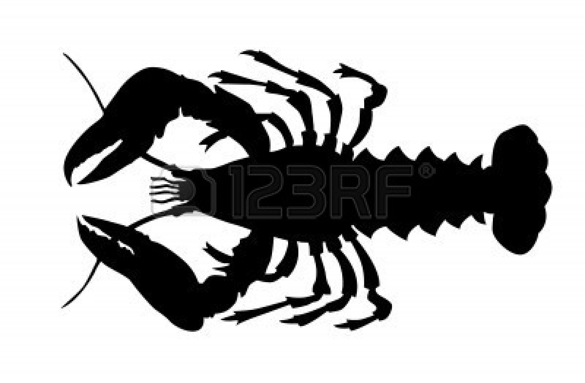 Free Crawfish Silhouette Cliparts, Download Free Clip Art ...