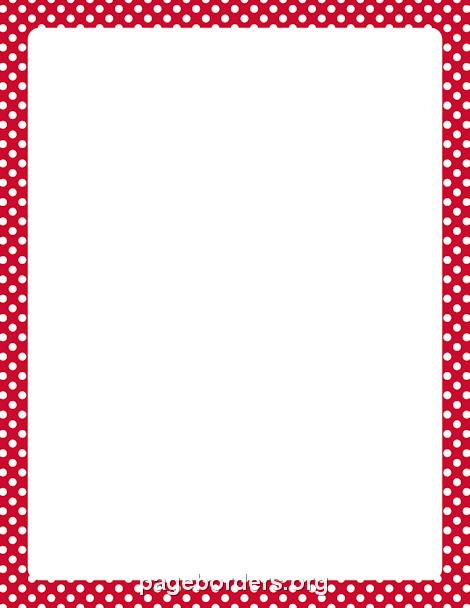 Red Checkered Border Clip Art