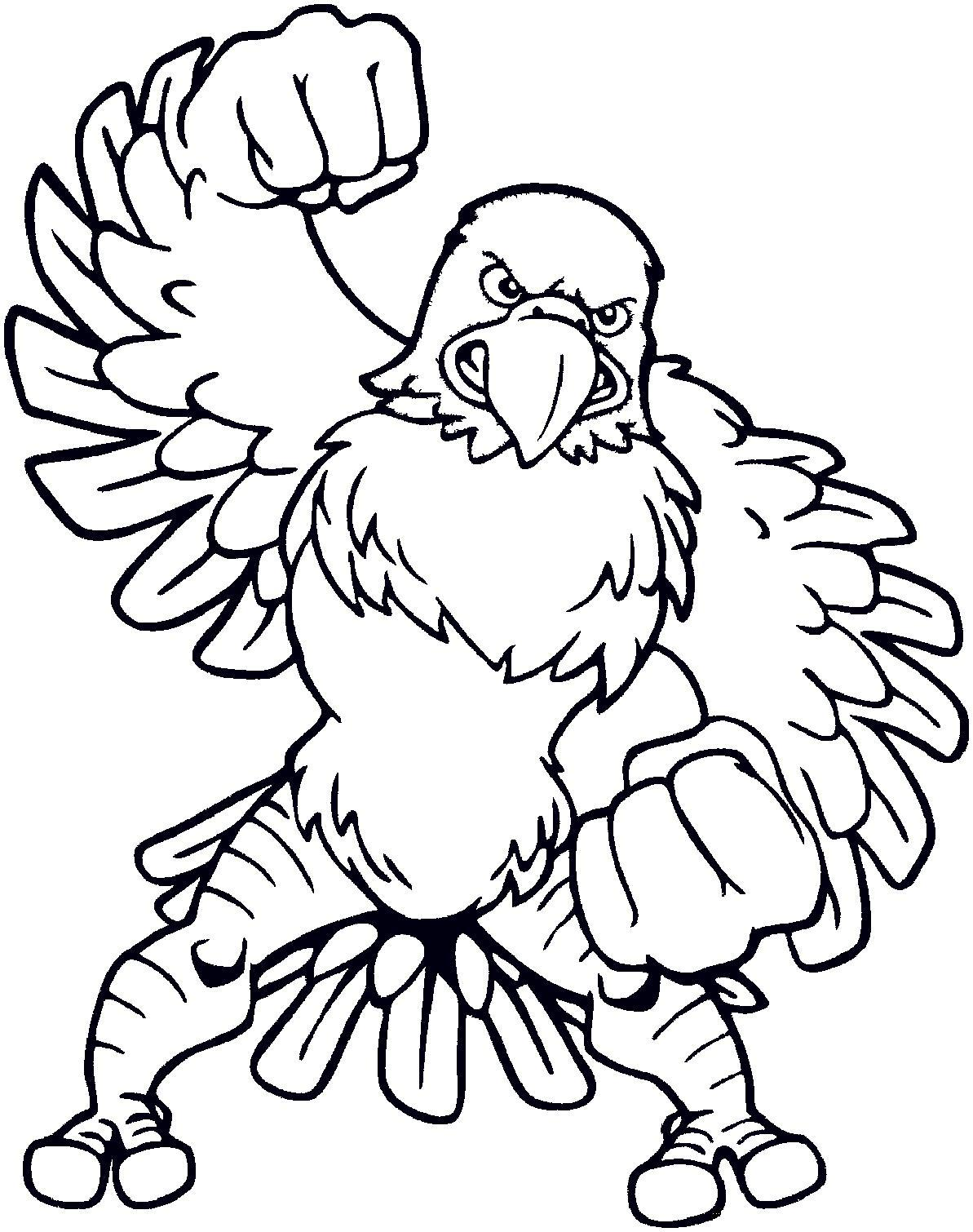 Eagle Coloring The Flying Bald Eagle Coloring Page Image World