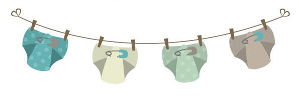Free Diaper Clothesline Cliparts Download Free Clip Art