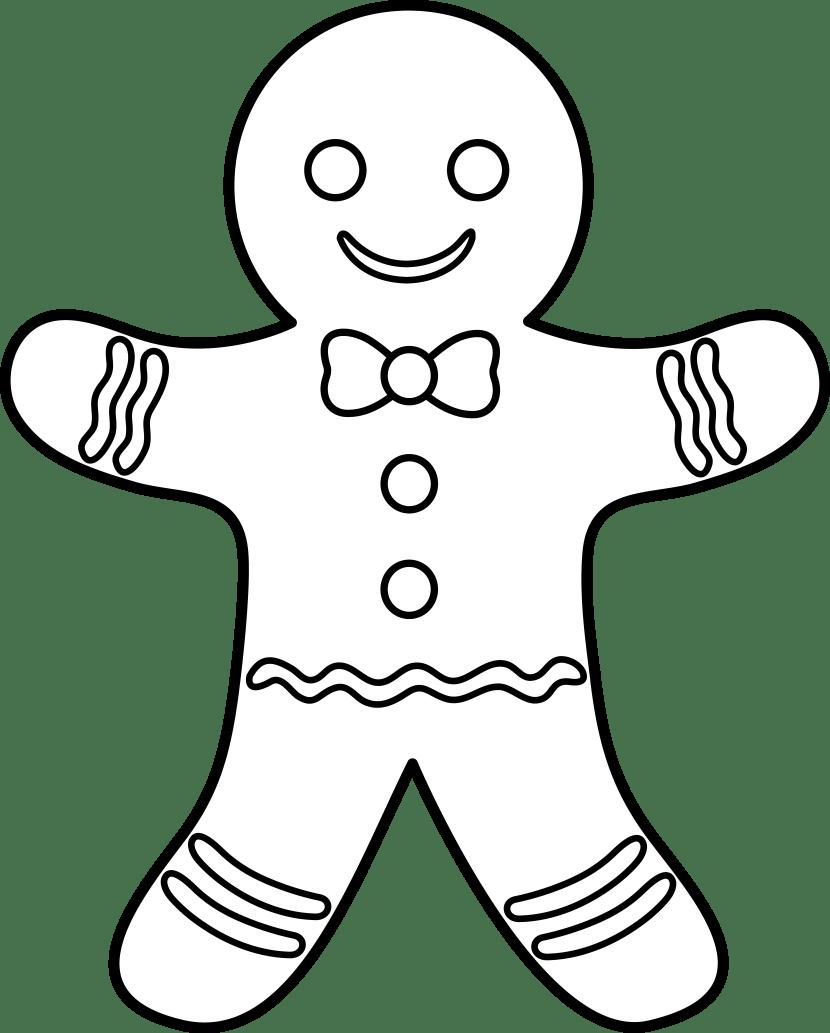Gingerbread Man Cliparts Free Download Clip Art Free Clip Art