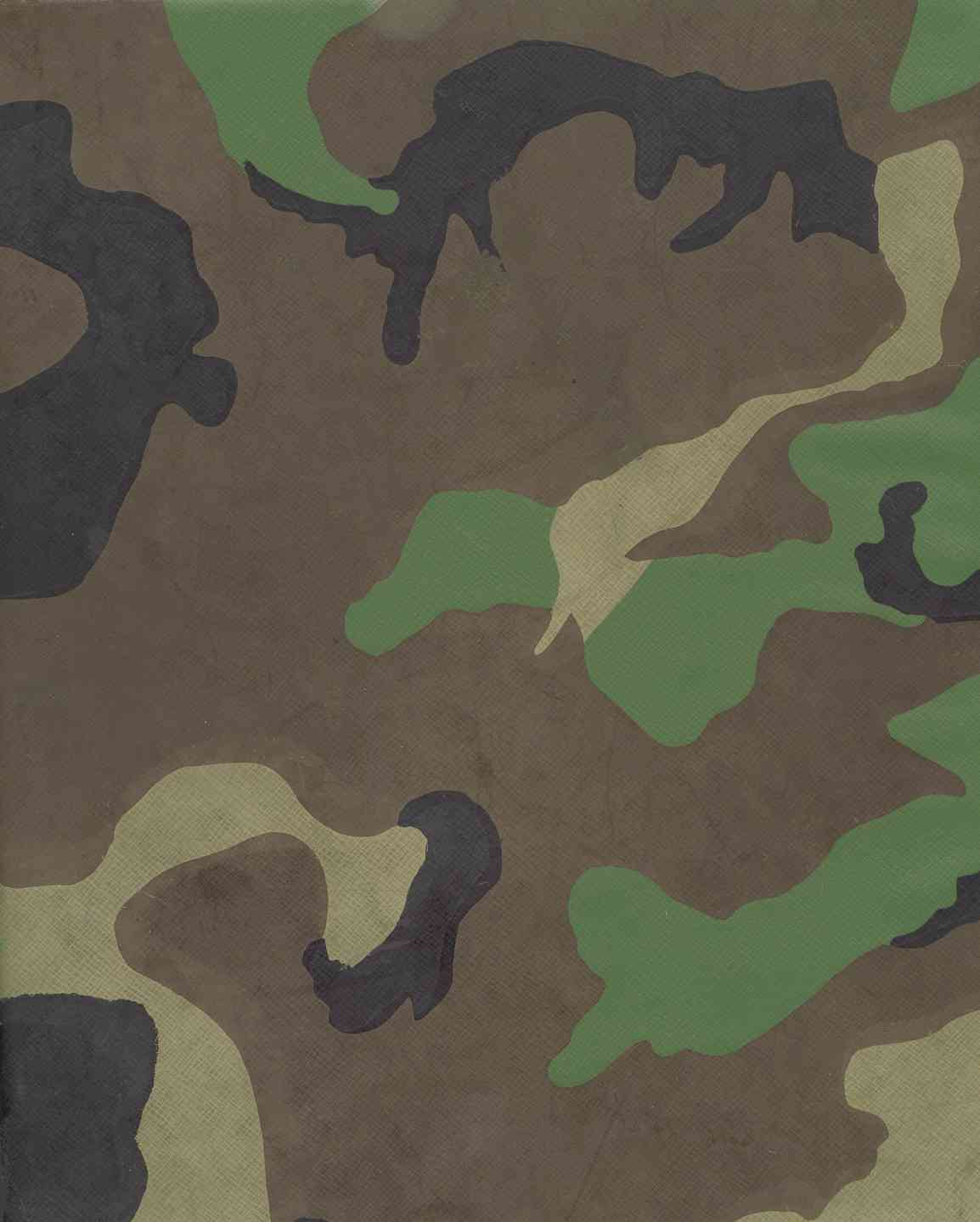 Art Hat Camouflage Clip