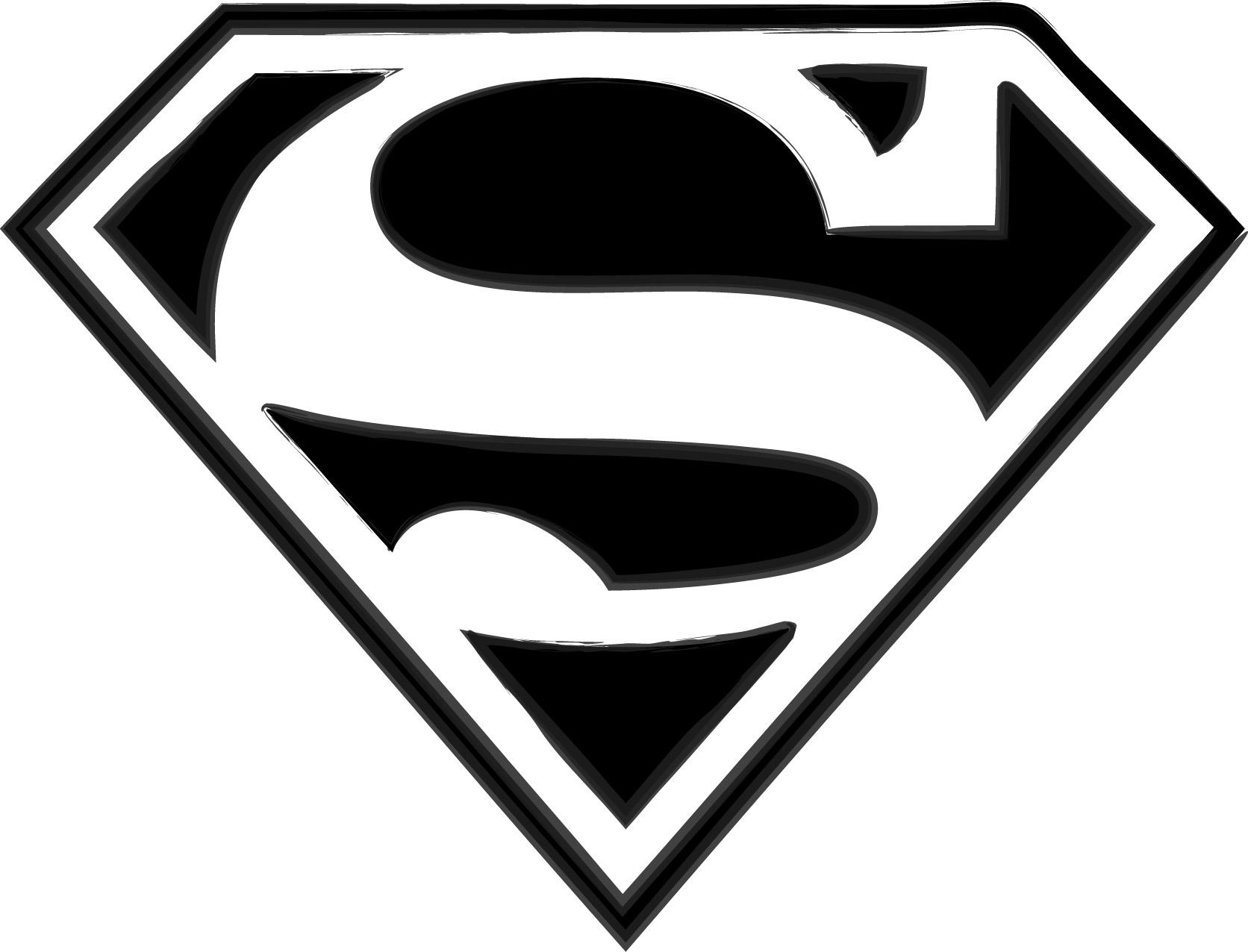 Supergirl Clip Art Black