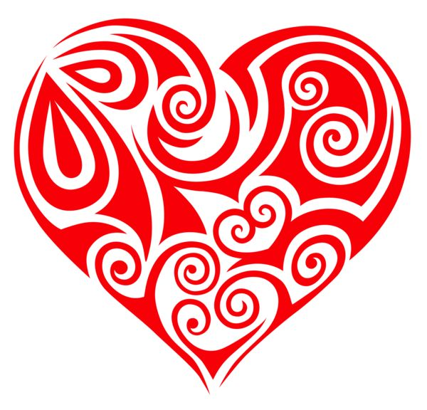 Free swirly love cliparts download free clip art free, love heart coloring pages
