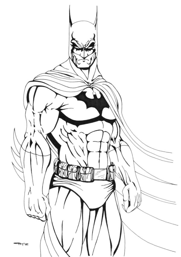 printable batman coloring pages # 8