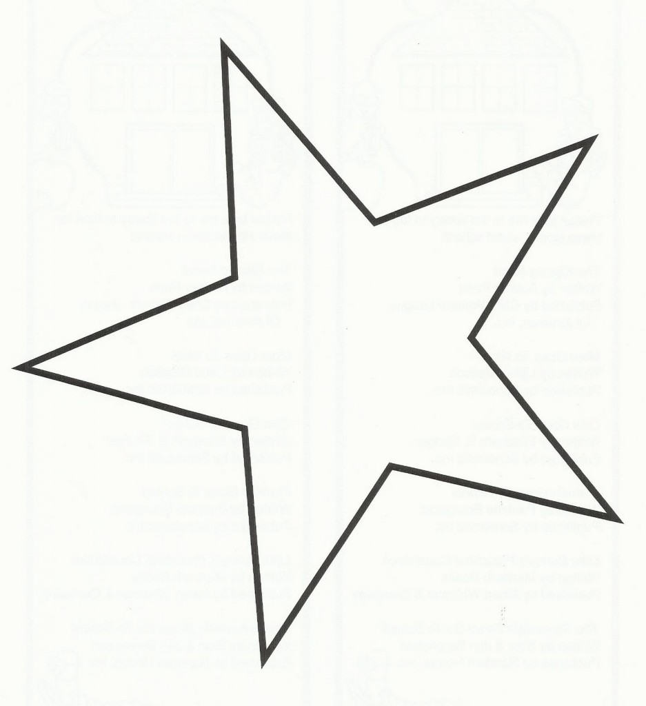 Dallas Cowboys Star Outline