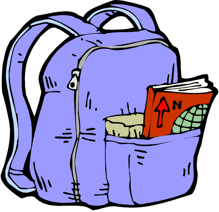 Best Backpack Clipart #11126 - Clipartion.com