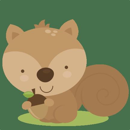 Woodland squirrel clipart - Clipartix
