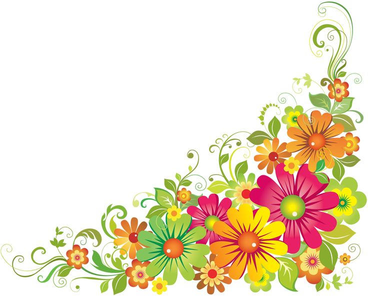 Transparent Mexican Clip Flowers Art