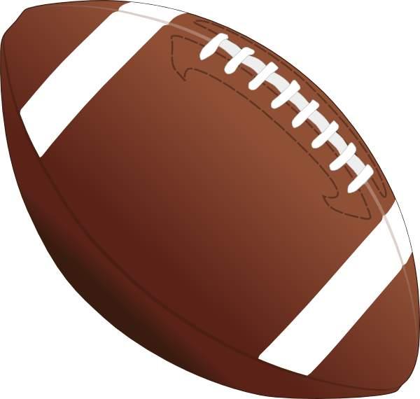 Football clipart - Clipartix