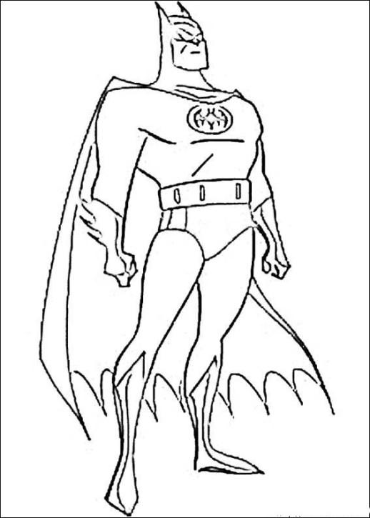 Batman outline free batman superhero coloring pages, superhero coloring pages