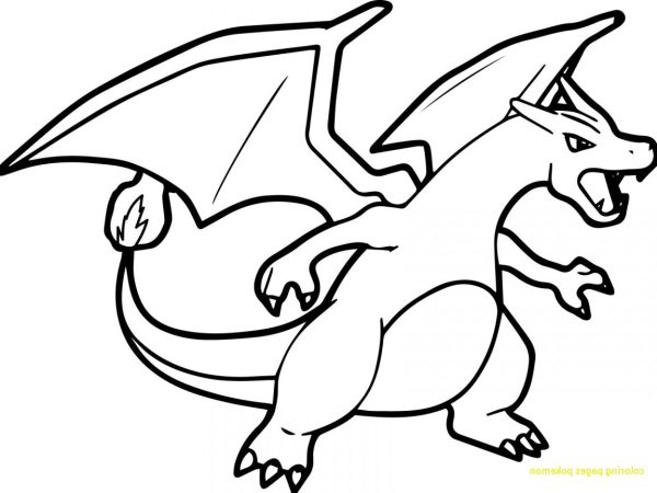 charizard coloring page # 5