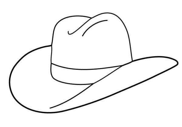 cowboy hat pattern # 36