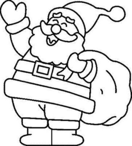 preschool christmas coloring pages # 4