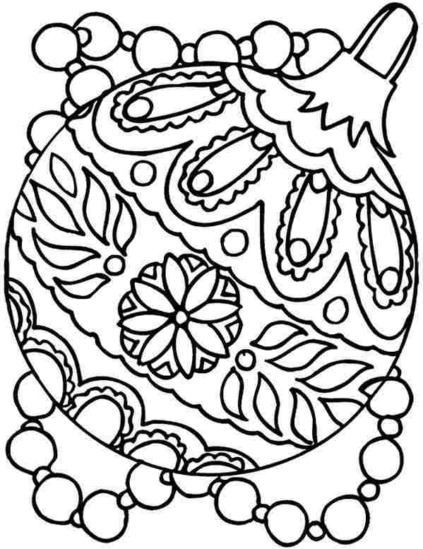 preschool christmas coloring pages # 58