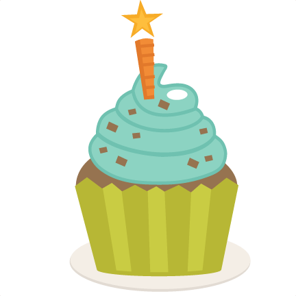 Happy Birthday Cupcake Clipart Free Download Best Happy