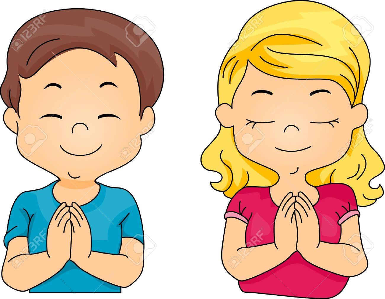 Kids Praying Clipart | Free download best Kids Praying ...
