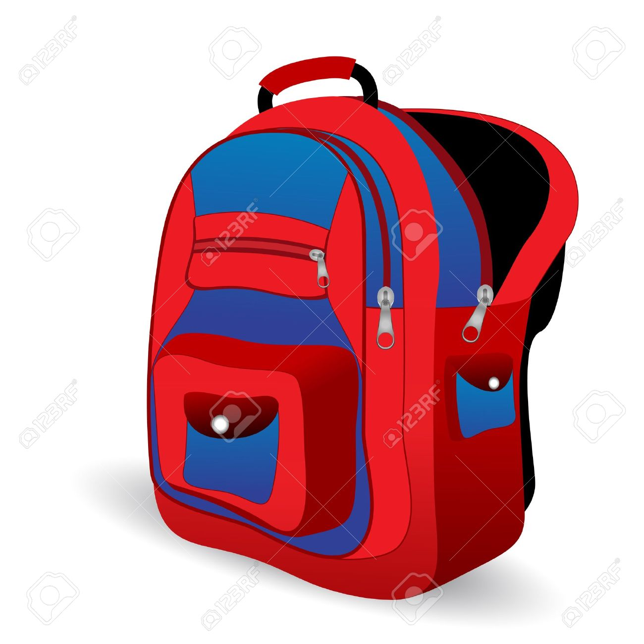 Open Backpack Clipart | Free download best Open Backpack ...