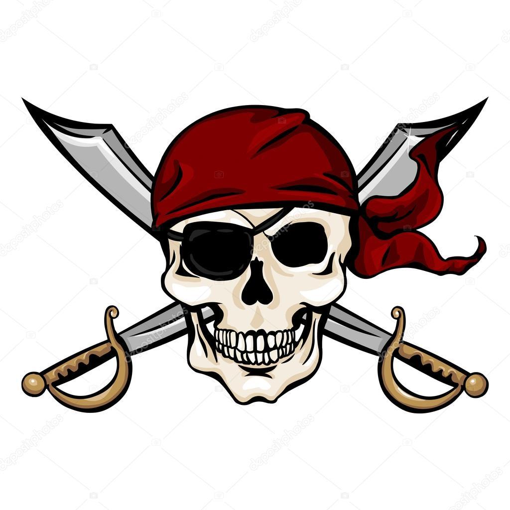 Bandana Crossbones Eye Patch Skull And
