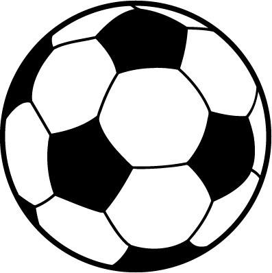 Soccer Ball Clipart Black And White | Free download best ...