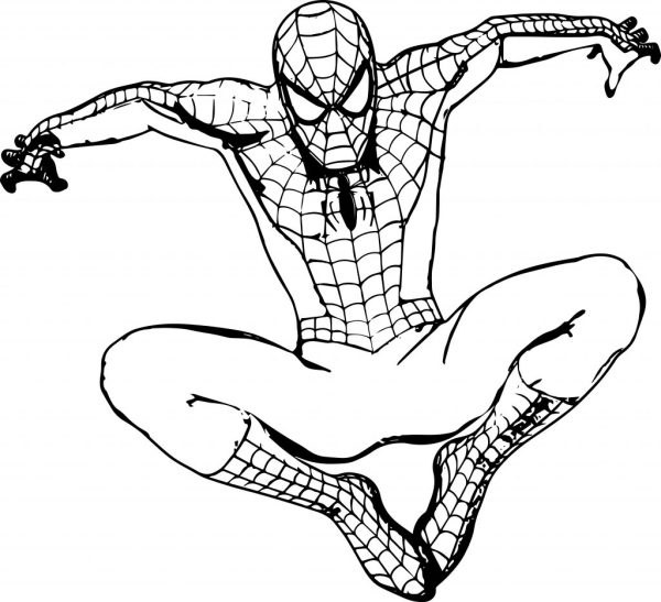 coloring pages of spiderman # 25