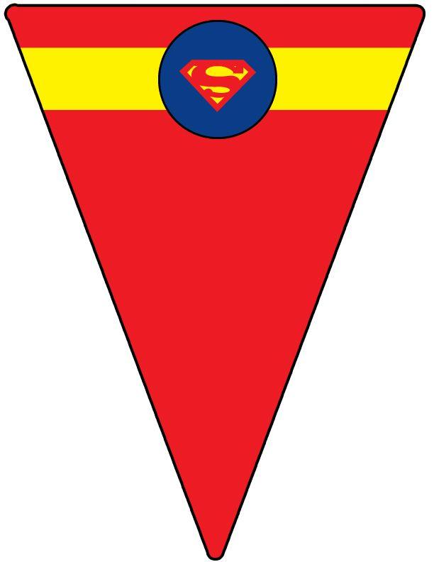 Superman Shield Template