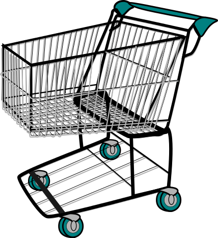 Shopping Cart Basic Clip Art Download - Cliparts.co
