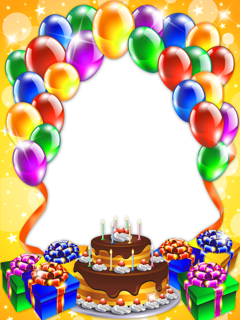 Free Birthday Frames Cliparts Co