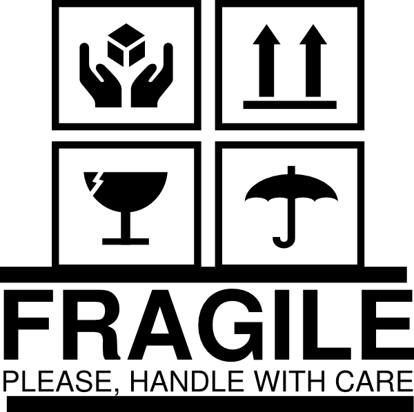 Fragile - Cliparts.co