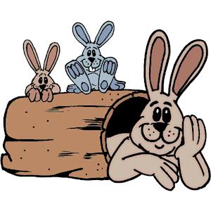 Rabbit Family Clipart Cliparts Of Rabbit Family Free
