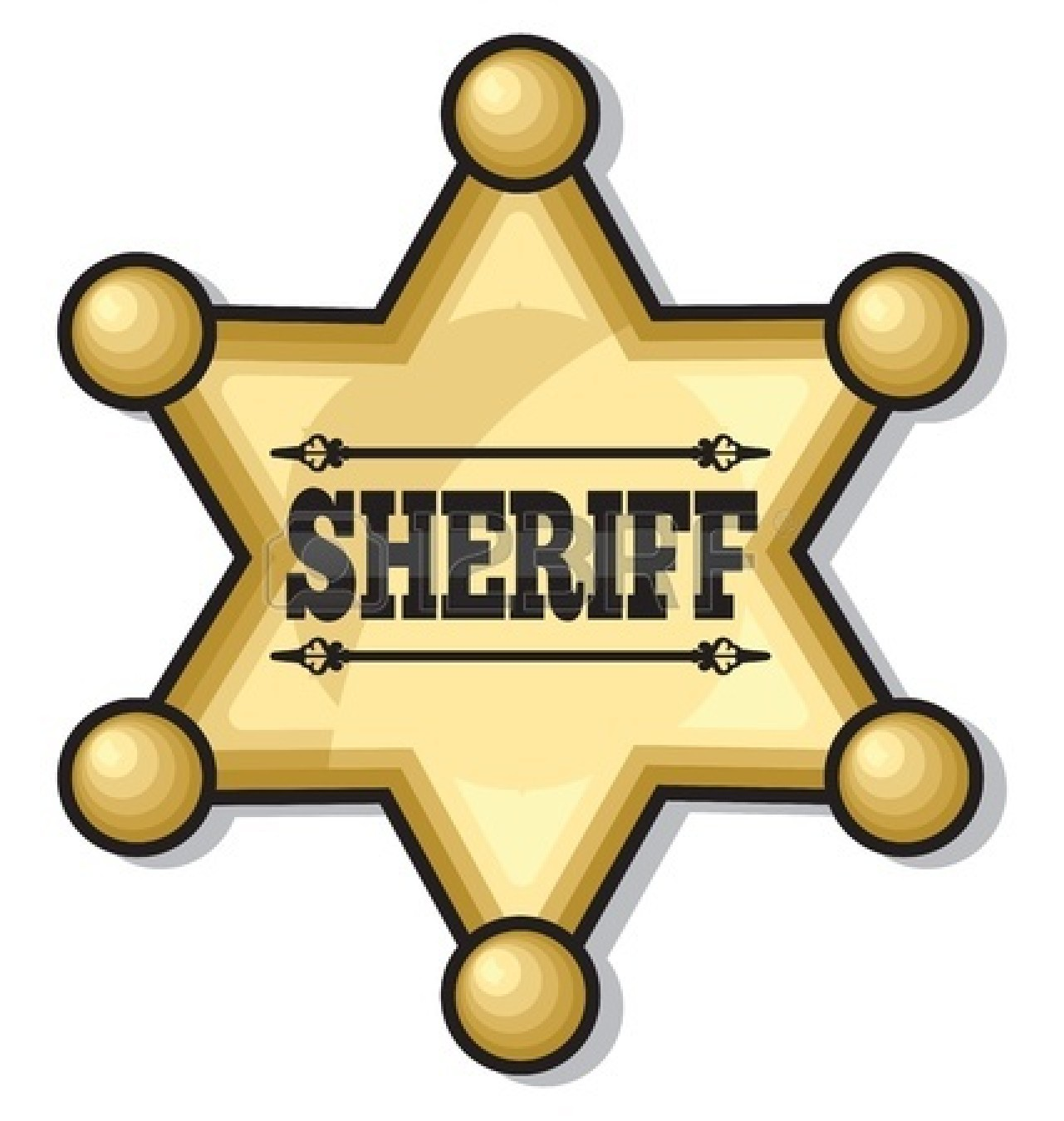 Deputy Sheriff Badge Transparent