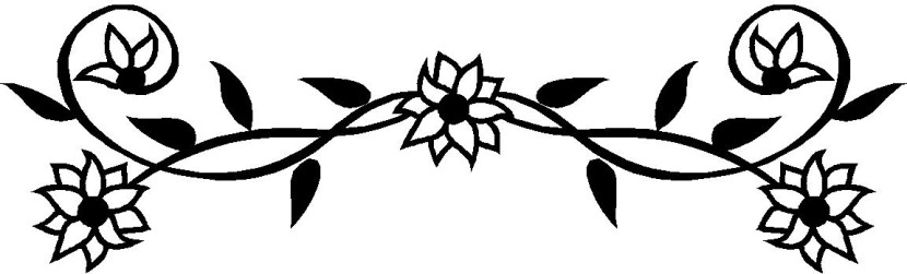 Arrangements Art Floral Black And Clip White