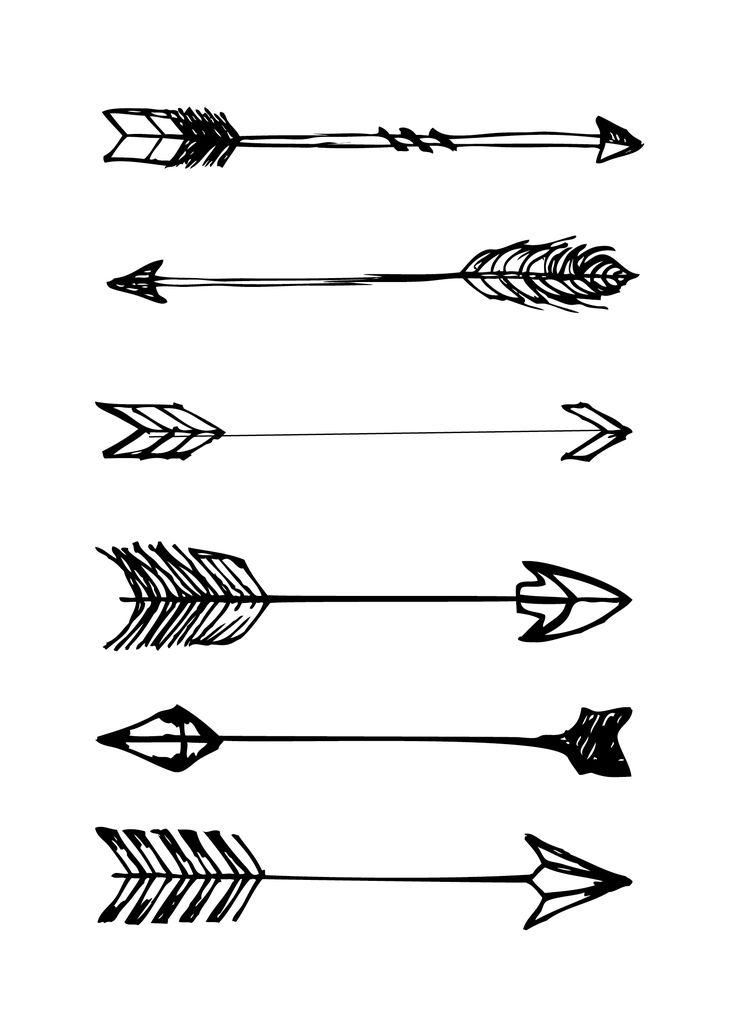 Arrow Background Transparent Tribal Black