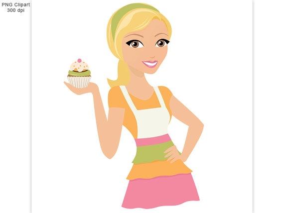 Girl Clip Cake Art