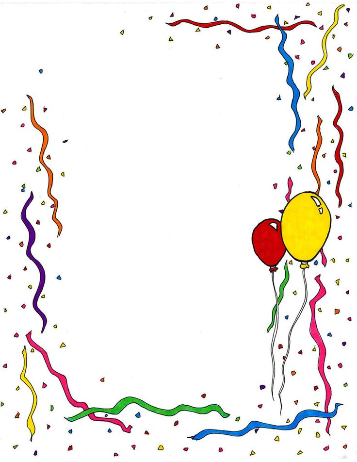 Birthday Clipart Borders 20 Free Cliparts Download