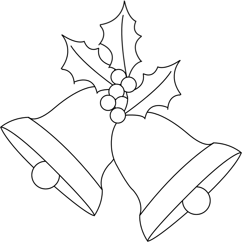 Easy Draw Christmas Bells