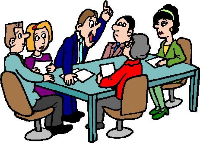 Church Art Clip Meeting Council