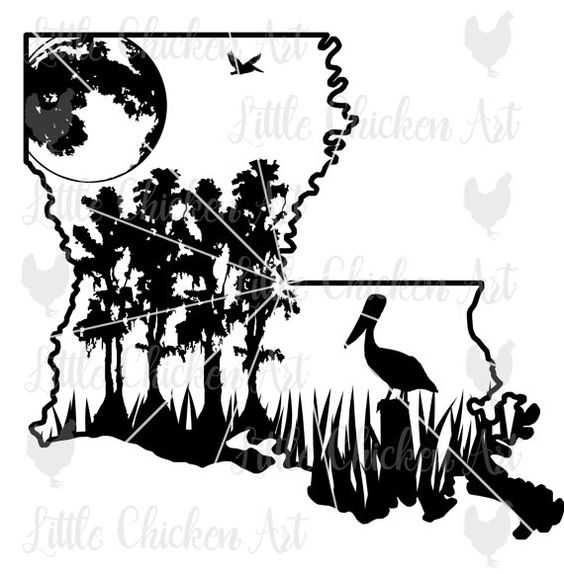 The gallery for --> Black And White Swamp Clipart